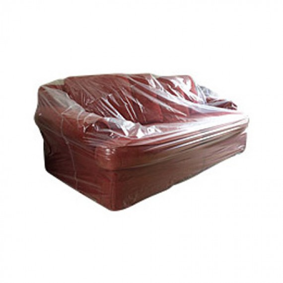 T mask for Sectional sofa plastic covers